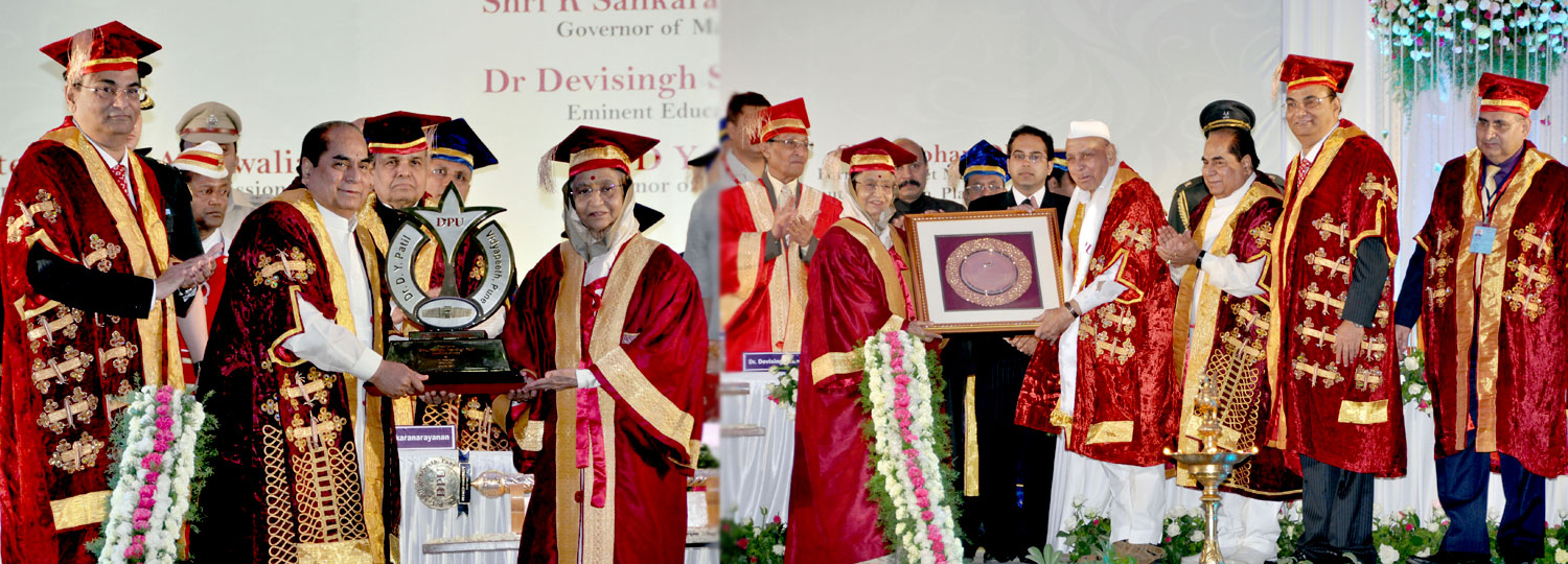 Dr. D. Y. Patil Vidyapeeth, Pune, held its Third Convocation on Saturday, June 09, 2012